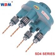 Đầu khoan bốn trục WDDM SD4 series