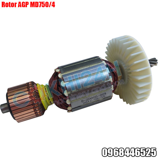Rotor máy khoan từ AGP MD750/4 và  MDS750/4