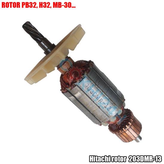 Rô to máy khoan từ Hitachi PB32 - 18ZA18