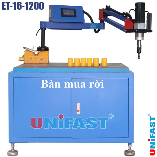 Máy ta rô cần chạy bằng điện động cơ servo Unifast ET-16-1200