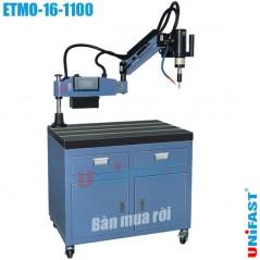 Máy taro điện ETMO-16-1100 (M3-M16, cần 1100mm, xoay 90 độ, có bơm dầu)