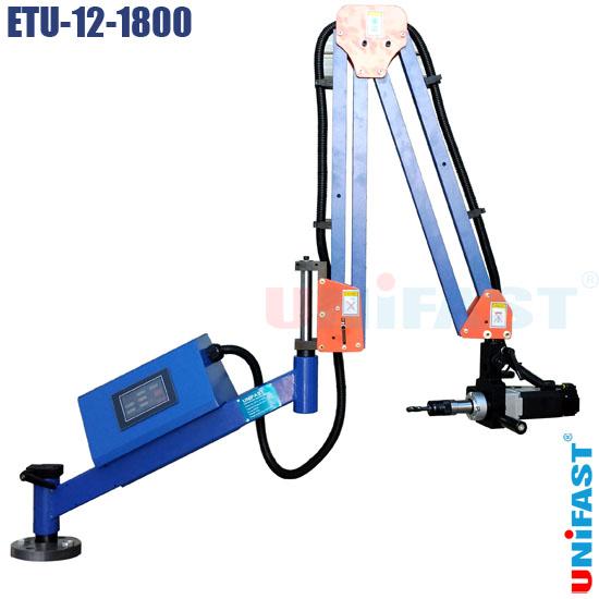 Máy ta rô điện dạng cần động cơ servo Unifast ETU-12-1800