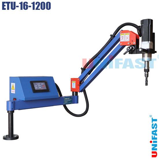 Máy ta rô điện dạng cần đứng ngang servo Unifast ETU-16-1200