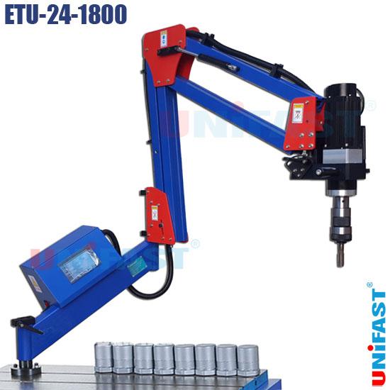 Máy taro cần dùng điện động cơ servo Unifast ETU-24-1800