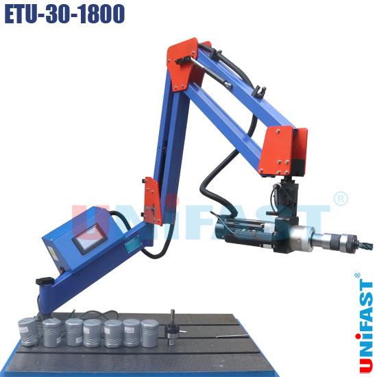 Máy ta rô đứng ngang dạng cần Unifast ETU-30-1800