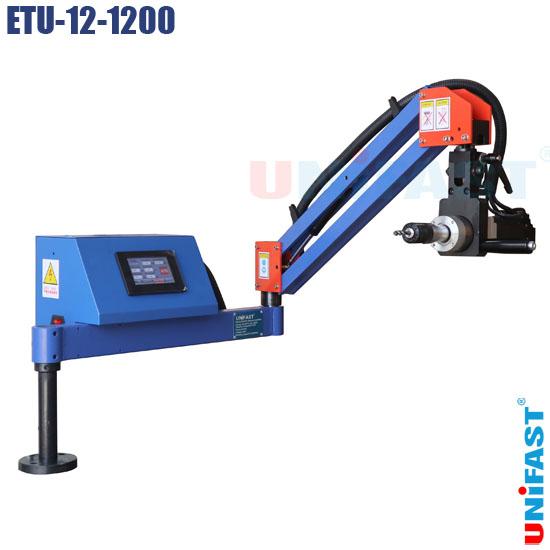 Máy ta rô điện dạng cần đứng ngang servo Unifast ETU-12-1200
