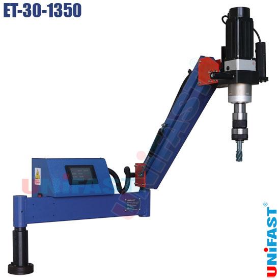 Máy taro cần chạy bằng điện động cơ servo Unifast ET-30-1350