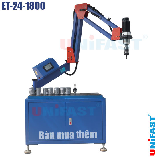 Máy ta rô cần chạy bằng điện M24 Unifast ET-24-1800