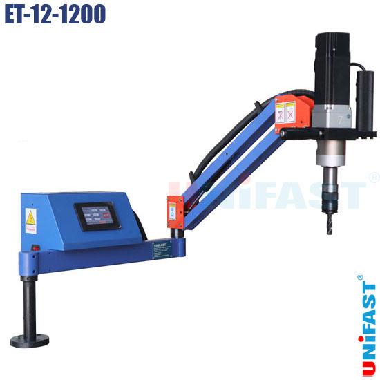 Máy ta rô điện dạng cần động cơ servo Unifast ET-12-1200