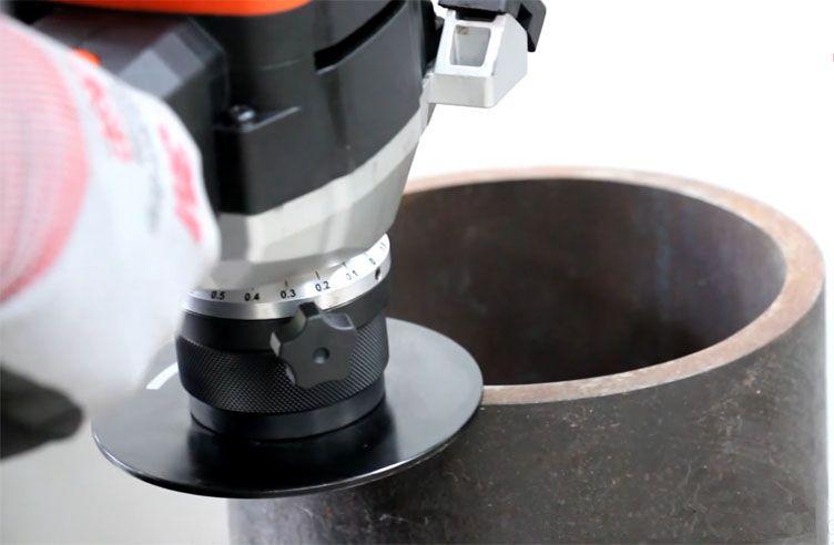 EB24 vát lỗ tròn bên tron, đường kính lỗ nhỏ nhất 30mm