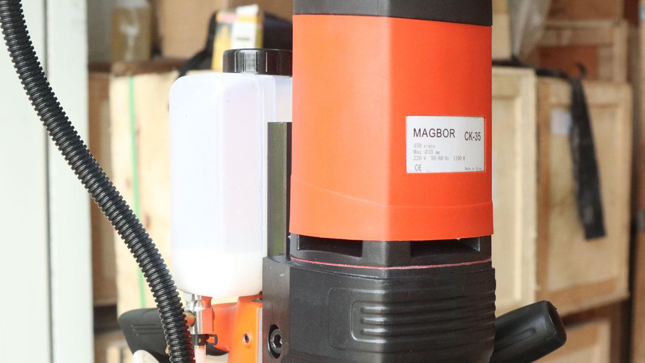 Động cơ máy khoan từ Magbor CK-35