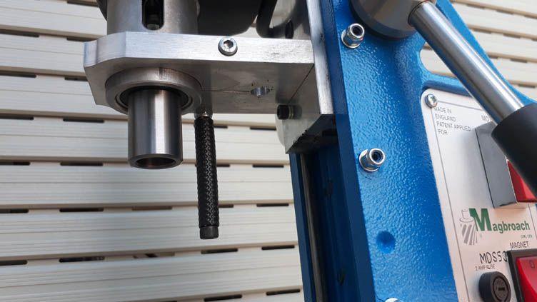 Trục chính MT2 của máy khoan từ MDS50