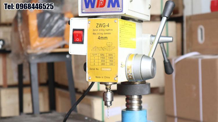Đầu kẹp mũi khoan 0-4mm của ZWG-4