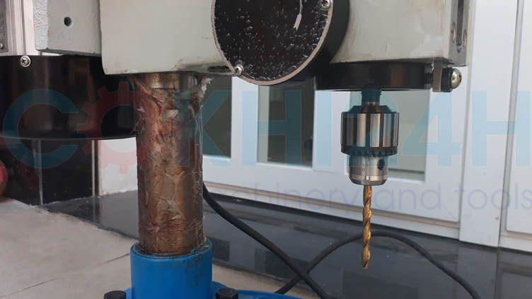 ZWG-6 cho phép khoan được từ 6mm trở lại, cặp mũi bằng mangranh