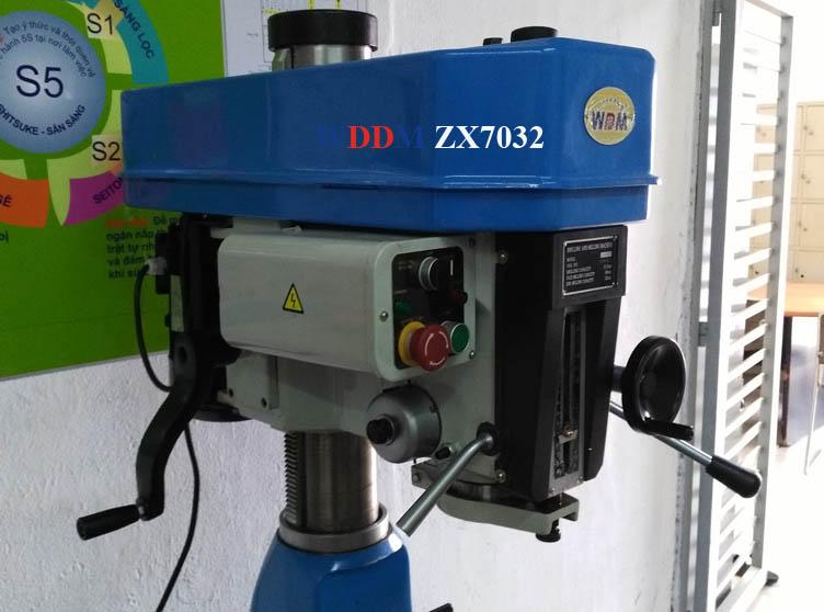 Máy khoan phay hiệu WDDM ZX7032