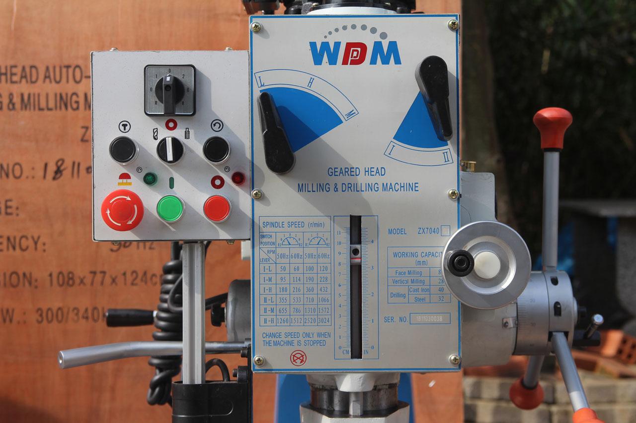 Máy khoan phay đa năng WDDM ZX7040B1