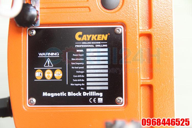 Mạc máy khoan từ Cayken SCY-32HD