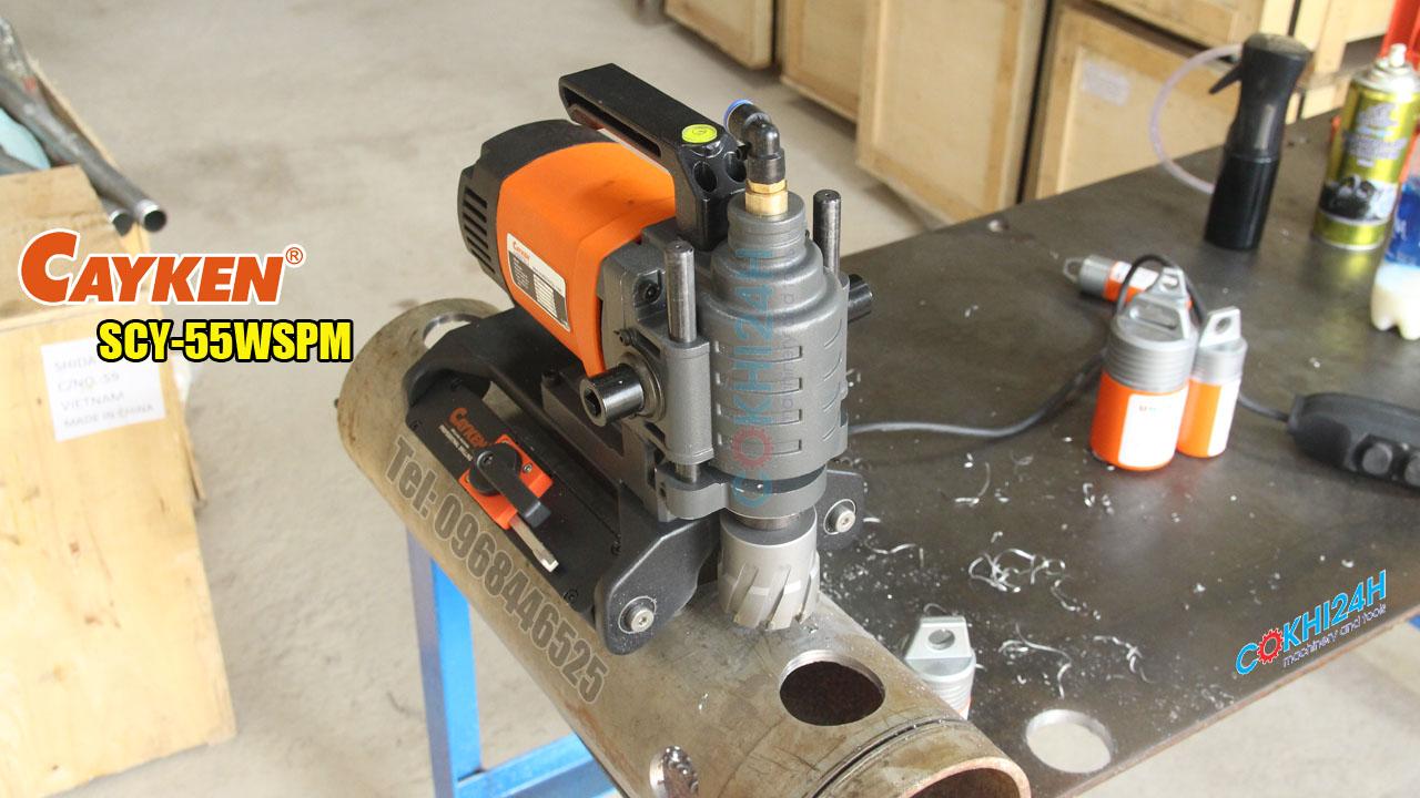 Máy khoan ống Cayken SCY-55WSPM