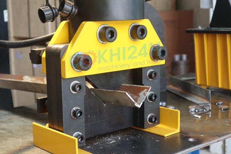 Đầu chấn sắt V thủy lực HHJG-100