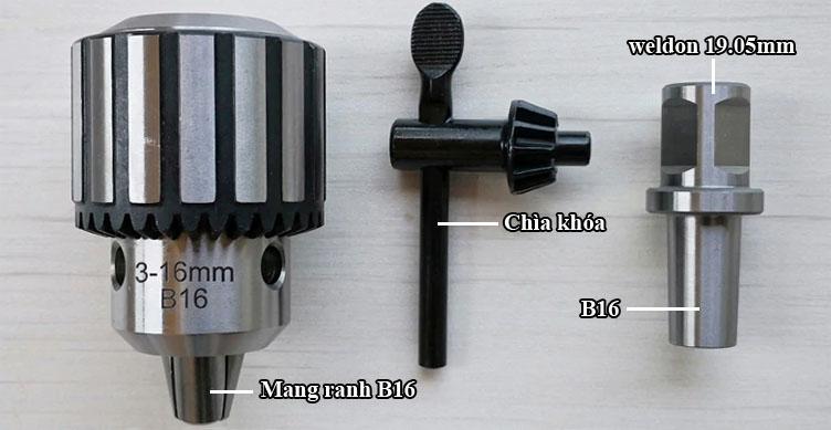 Adaptor B16 và măng ranh B16