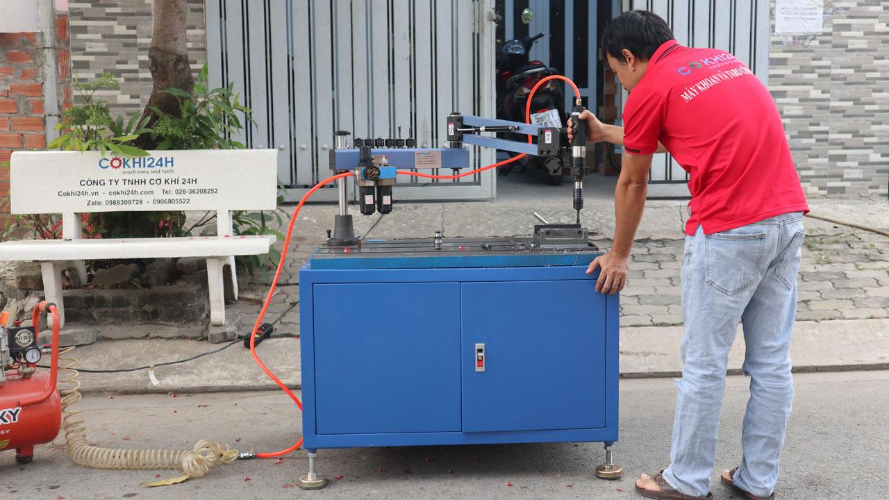 Máy ta rô cần khí nén UniFast ATM-12-1100
