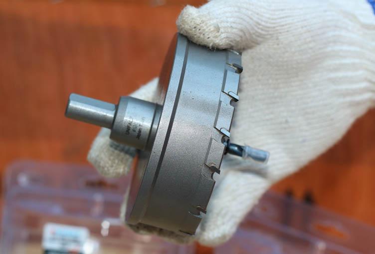 Mũi khoét lỗ kim loại phi 120mm hiệu UniFast MCT-120
