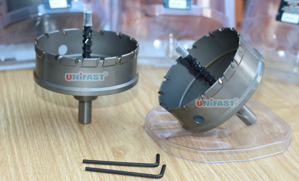 Mũi khoét lỗ kim loại phi 90 hiệu UniFast MCT-90