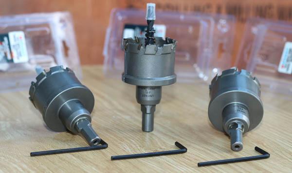 Mũi lả lỗ hợp kim MCT-45